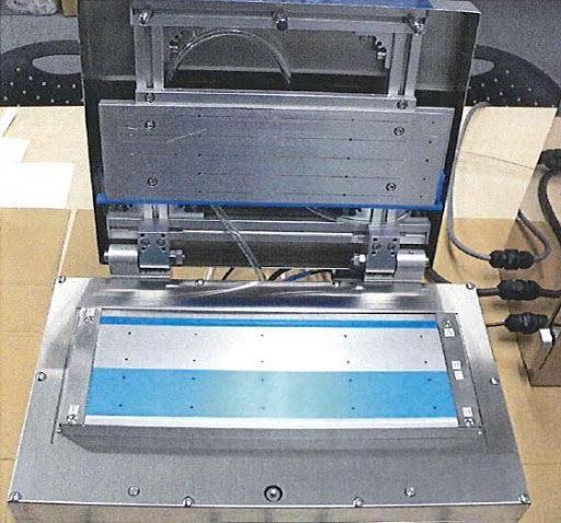 イムノクロマトロボットシリンダー式ラミネーター