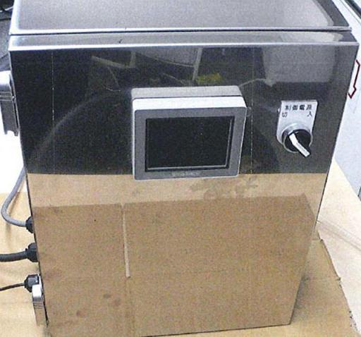 イムノクロマトロボットシリンダー式ラミネーター制御ボックス