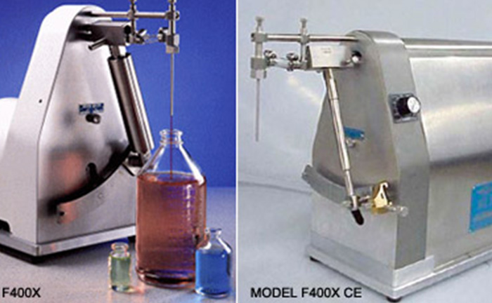 【液体充填】卓上型液体充填機 MODEL F400X