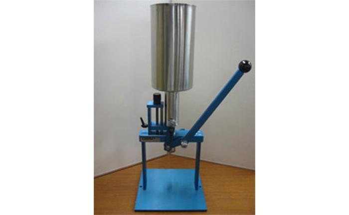 【粘体充填】手動式 液体・ペースト充填機
