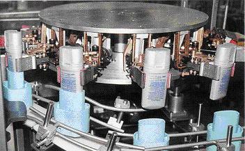 袴(パック/ホールディングカップ)からの容器抜き取り機