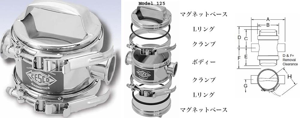 マグトラップ MODEL 125