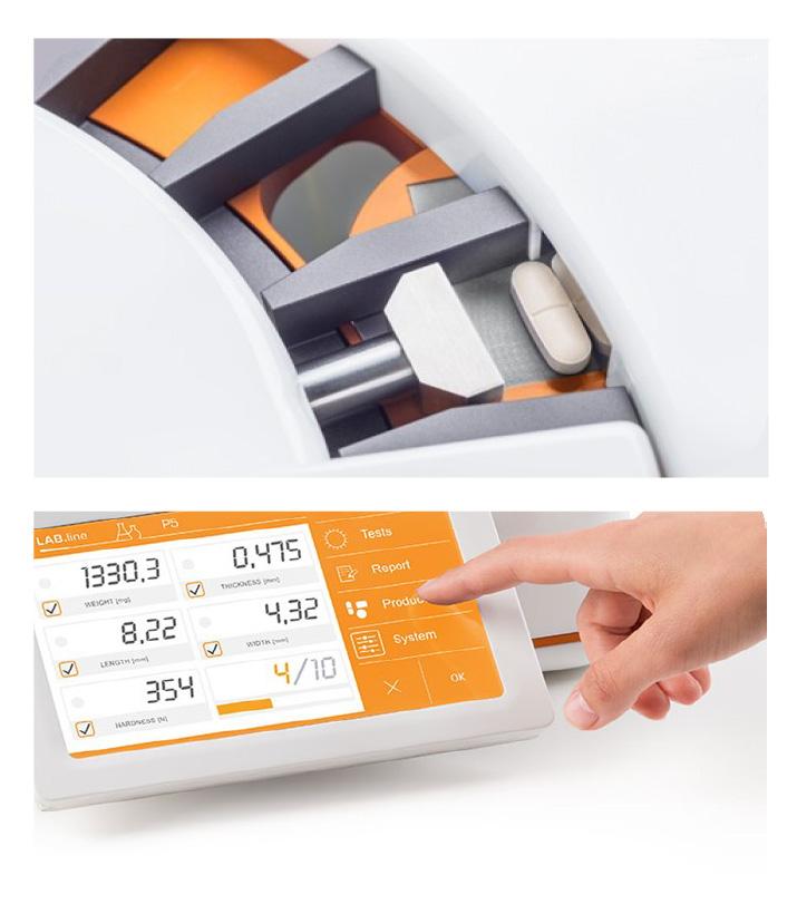 ラボ用 錠剤・カプセル測定機MODEL-PSERIES