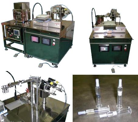 【液体充填】プレフィルドシリンジ用充填・真空打栓装置
