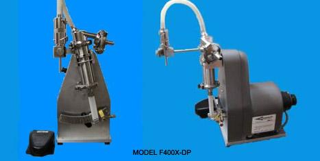 【液体充填】卓上型液体充填機 MODEL F400X-DP