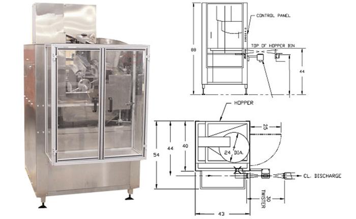 【クリーンルーム用】小型プラスチック容器整列装置